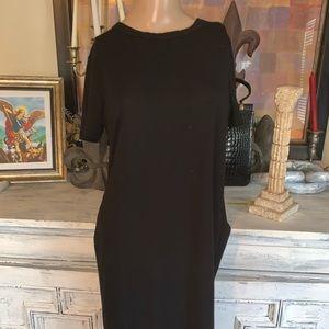 Forever 21 dress with net hem